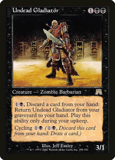Undead Gladiator (ONS)