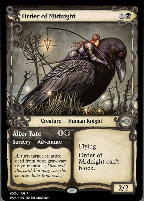 Order of Midnight // Alter Fate (PRM)