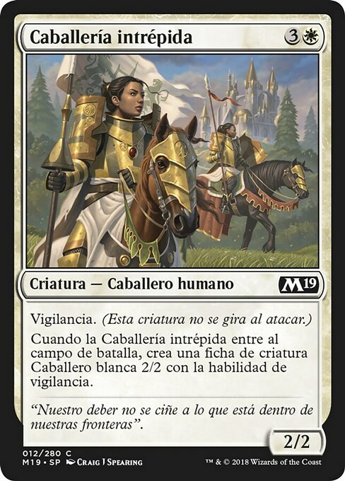 Gallant Cavalry (M19)