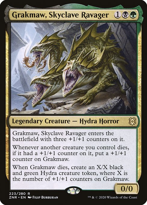 Grakmaw, Skyclave Ravager (ZNR)