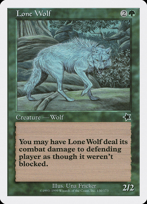 Lone Wolf (S99)