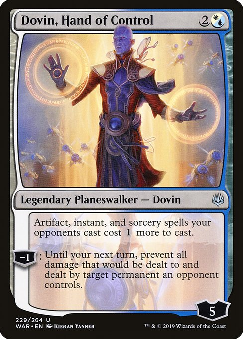 Dovin, Hand of Control (WAR)