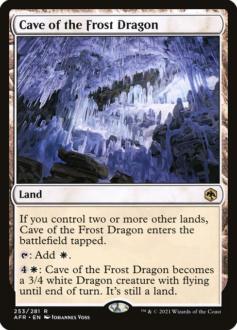 Cave of the Frost Dragon (AFR)
