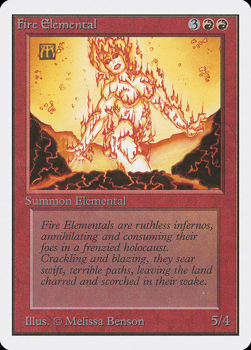 Fire Elemental (2ED)