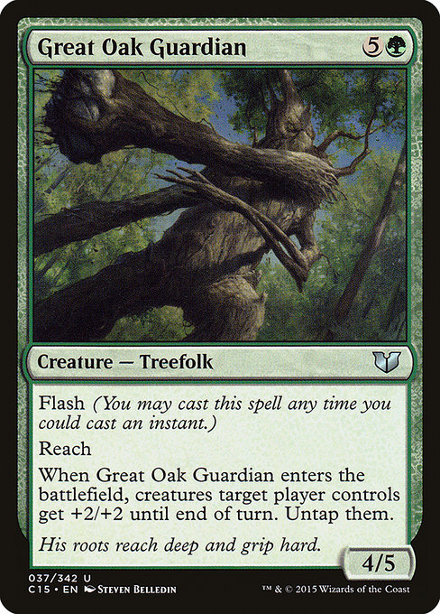 Great Oak Guardian (C15)