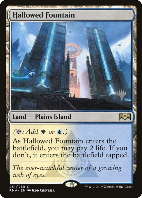 Hallowed Fountain (PRNA)