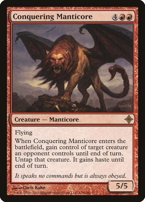 Conquering Manticore (ROE)