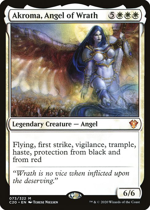 Akroma, Angel of Wrath (C20)