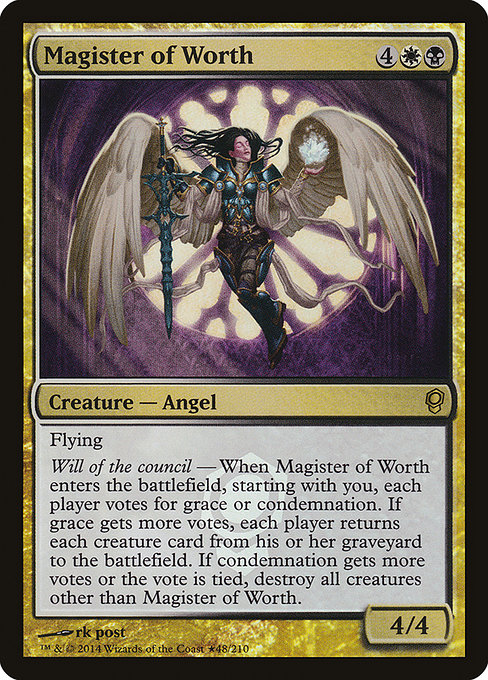 Magister of Worth (PCNS)