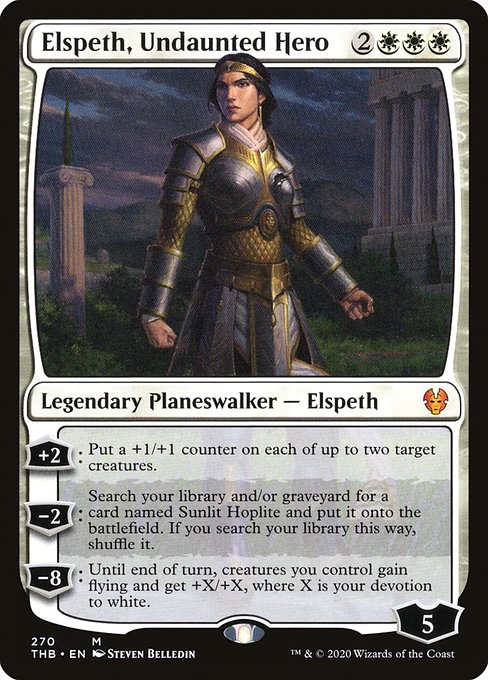 Elspeth, Undaunted Hero (THB)