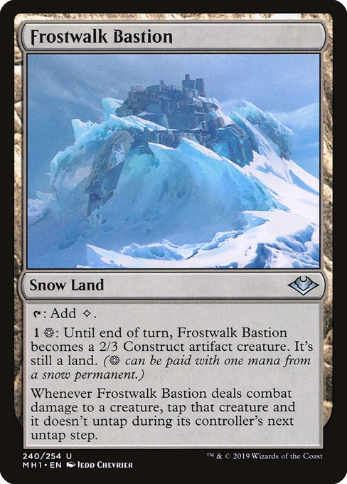 Frostwalk Bastion (MH1)