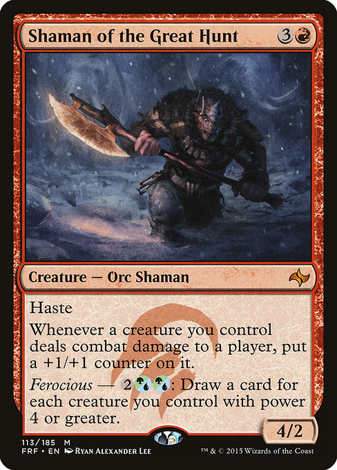 Shaman of the Great Hunt (FRF)