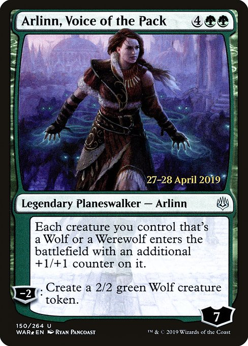 Arlinn, Voice of the Pack (PWAR)