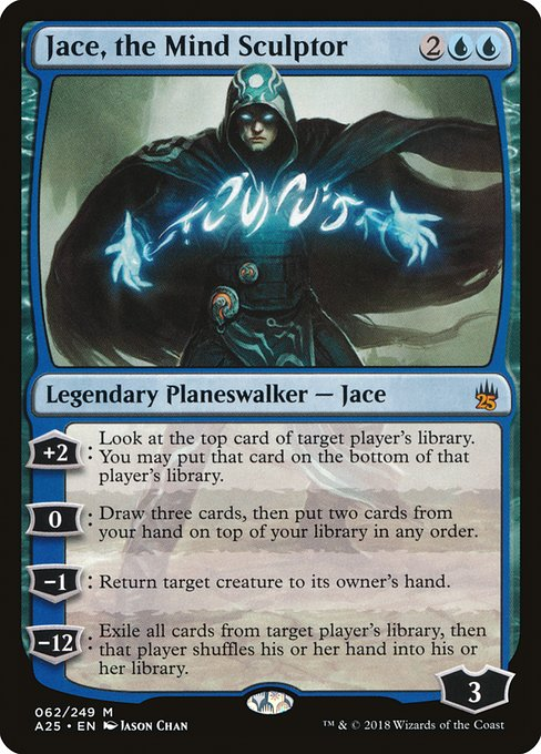 Jace, the Mind Sculptor (A25)