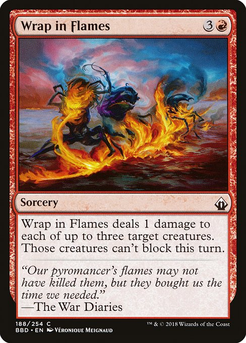 Wrap in Flames (BBD)