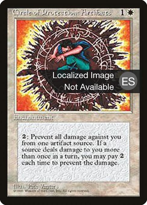 Circle of Protection: Artifacts (4BB)