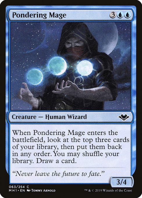 Pondering Mage (MH1)