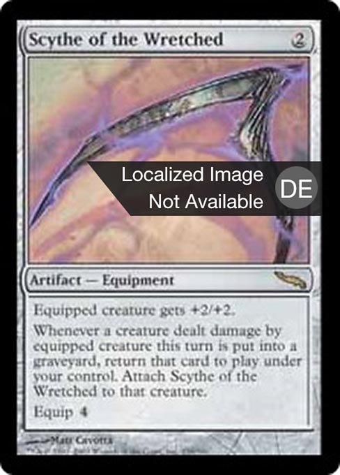 Scythe of the Wretched (MRD)
