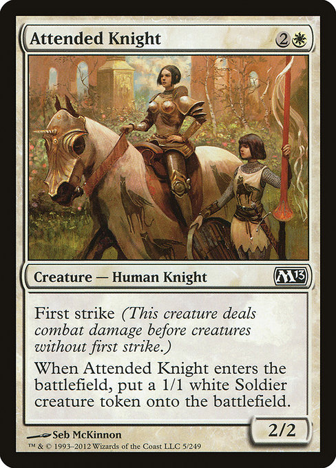 Attended Knight (M13)