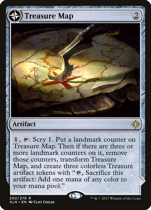 Treasure Map // Treasure Cove (XLN)