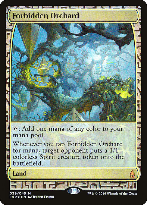 Forbidden Orchard (EXP)