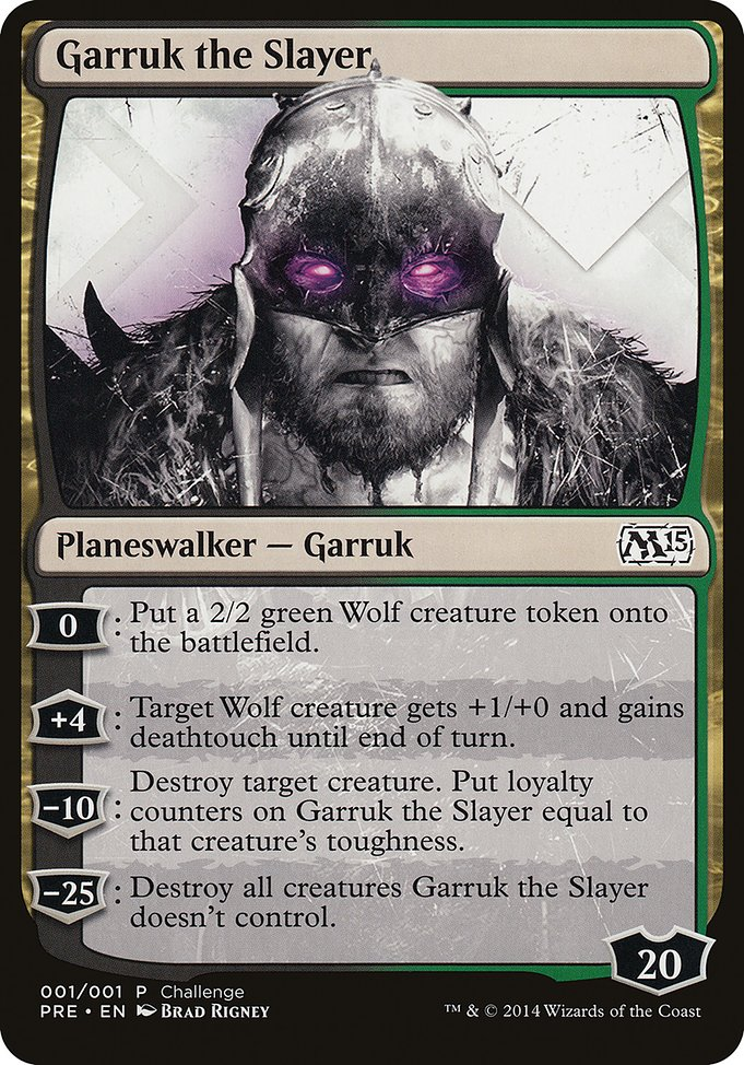 Garruk the Slayer (PPC1)