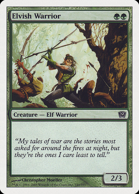 Elvish Warrior (9ED)