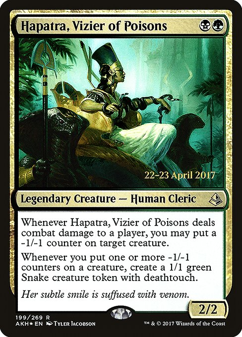 Hapatra, Vizier of Poisons (PAKH)