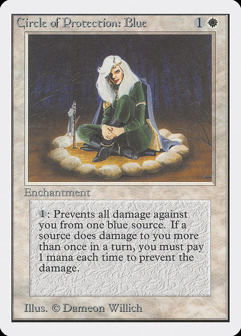 Circle of Protection: Blue (2ED)