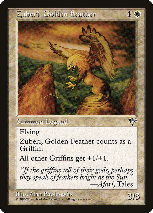 Zuberi, Golden Feather (MIR)