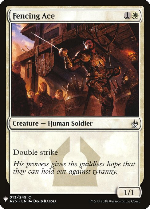 Fencing Ace (MB1)