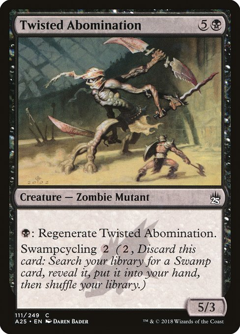 Twisted Abomination (A25)