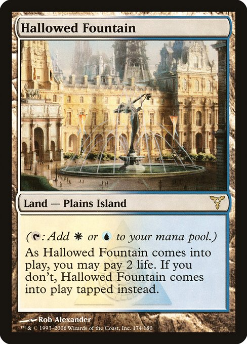 Hallowed Fountain (DIS)