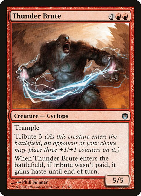 Thunder Brute (BNG)