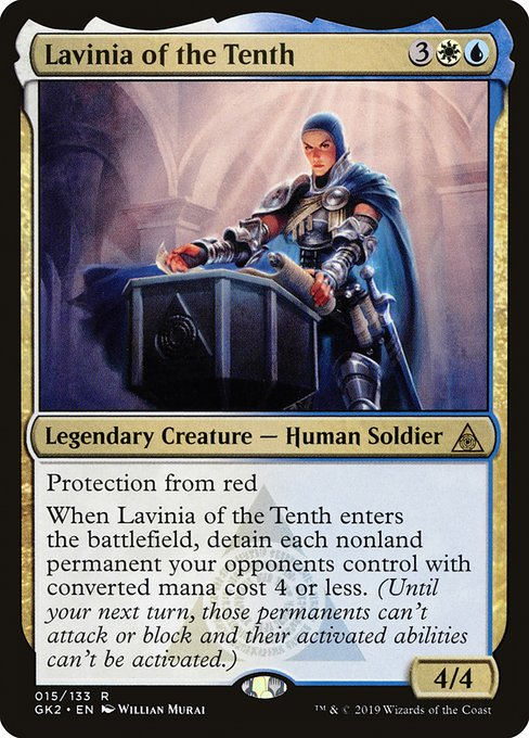 Lavinia of the Tenth (GK2)