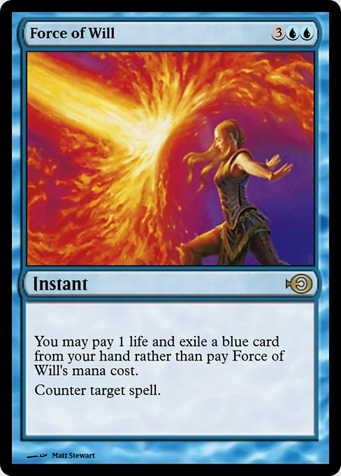 Force of Will (PRM)