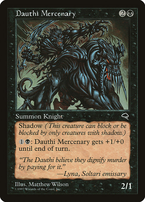 Dauthi Mercenary (TMP)