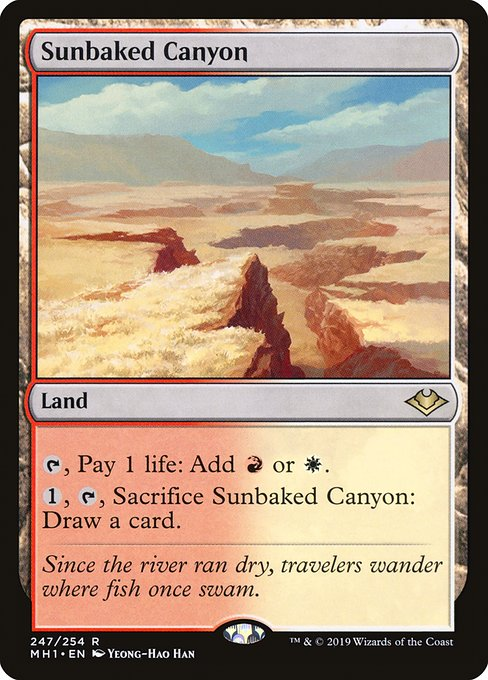 Sunbaked Canyon (MH1)