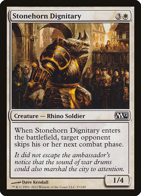 Stonehorn Dignitary (M12)