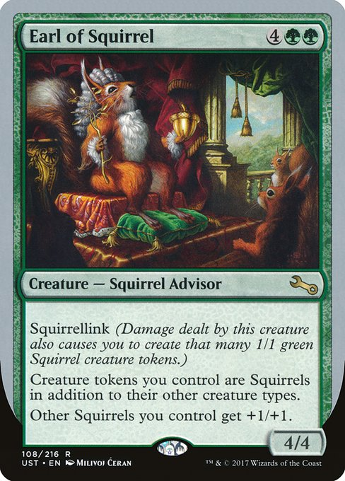 Earl of Squirrel (UST)