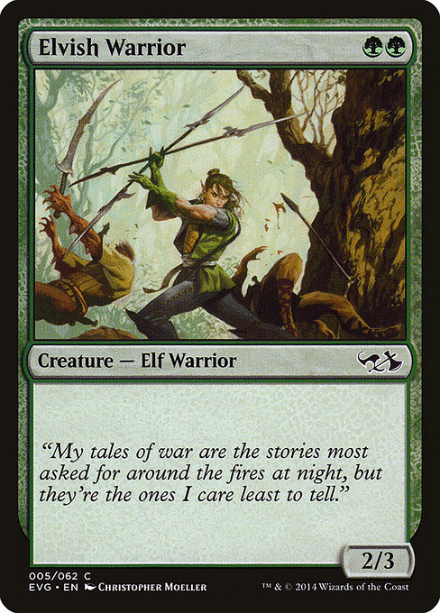 Elvish Warrior (EVG)