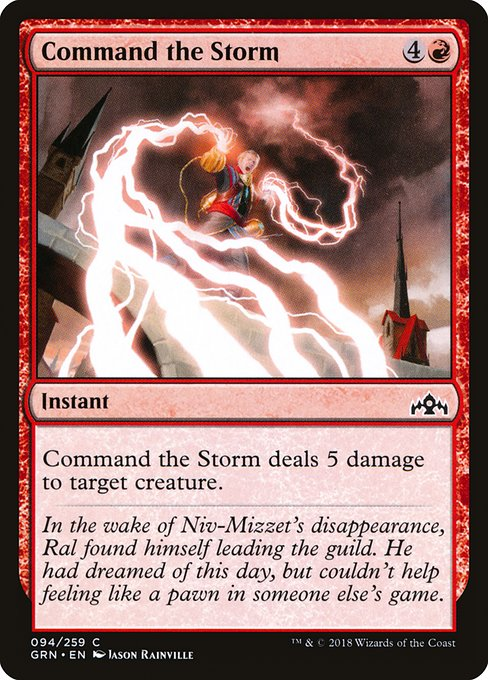 Command the Storm (GRN)