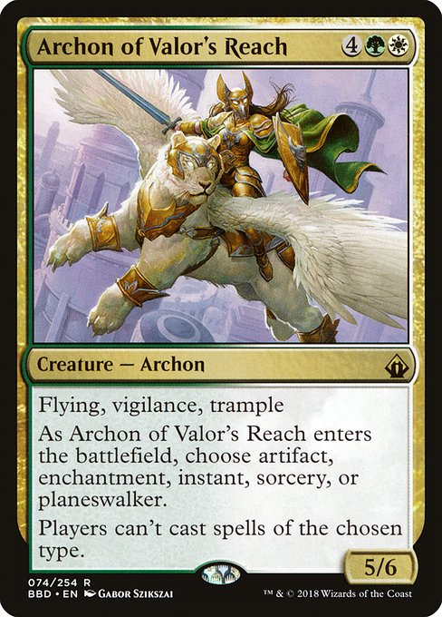 Archon of Valor's Reach (BBD)