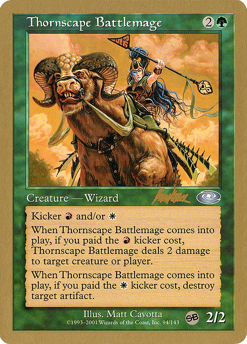 Thornscape Battlemage (WC02)