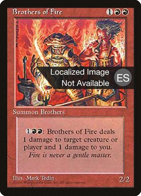 Brothers of Fire (4BB)