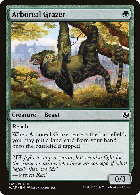 Arboreal Grazer - Magic: the Gathering