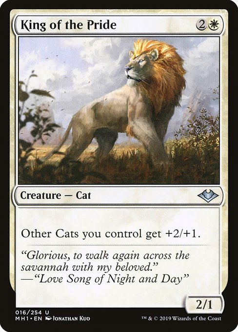 King of the Pride (MH1)