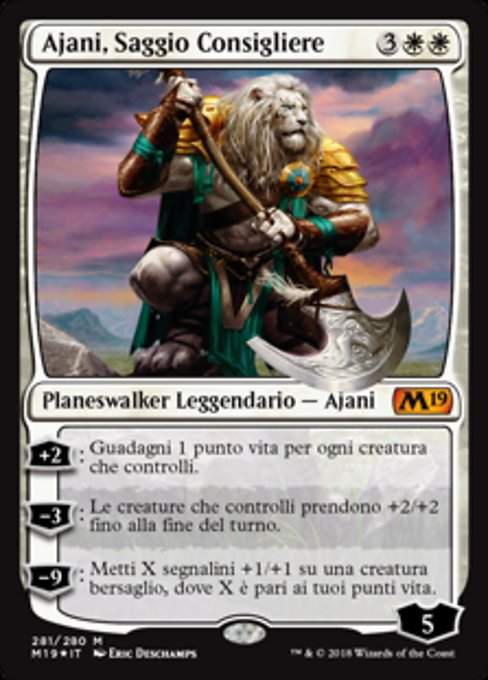 Ajani, Wise Counselor (M19)