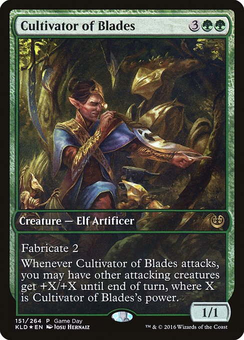 Cultivator of Blades (PKLD)