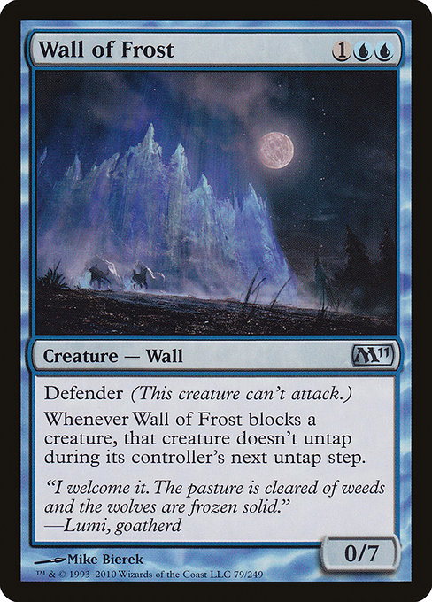 Wall of Frost (M11)
